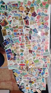 Každá jiná - poštovní známky Canady 289ks