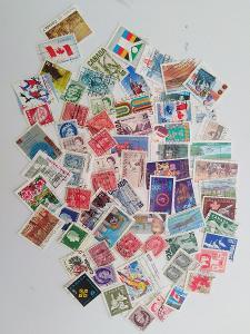 Každá jiná - poštovní známky Canady 68ks