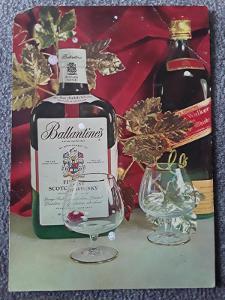 Pohlednice Šťastný Nový rok whisky