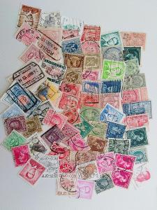 Každá jiná - poštovní známky Belgie 68ks