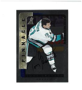 Tony Granato - San Jose Sharks - autographed