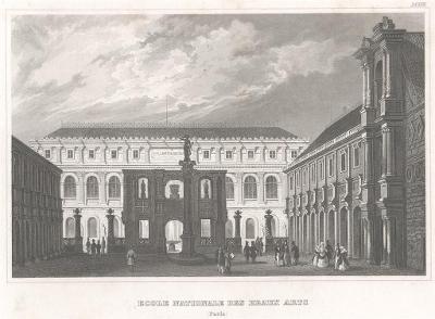 Paris Beaux Arts, Meyer, oceloryt, 1850