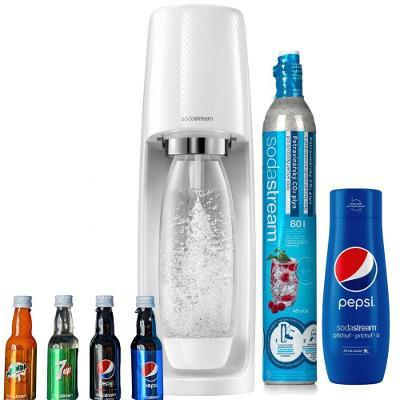 SodaStream Spirit Pepsi MEGAPACK bílý