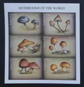 Antigua & Barbuda 1997 Mi.2557-2 9,5€ Houby a flora, mykologie