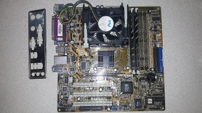 Základní deska Asus P4SP-MX + Procesor + Ram