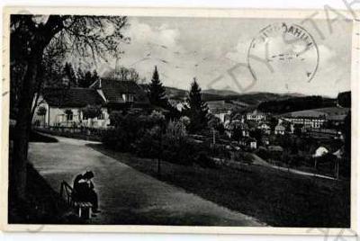 Lázně Luhačovice Zlín Pražská čtvrť Slovácká bouda