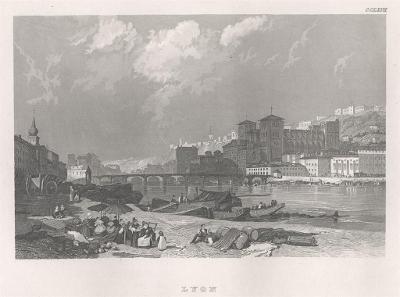 Lyon, Meyer, oceloryt, 1850
