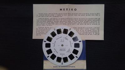 KOTOUČEK - Meoskop - MEXIKO 62/8- před XIX.Olympiádou roku 1968