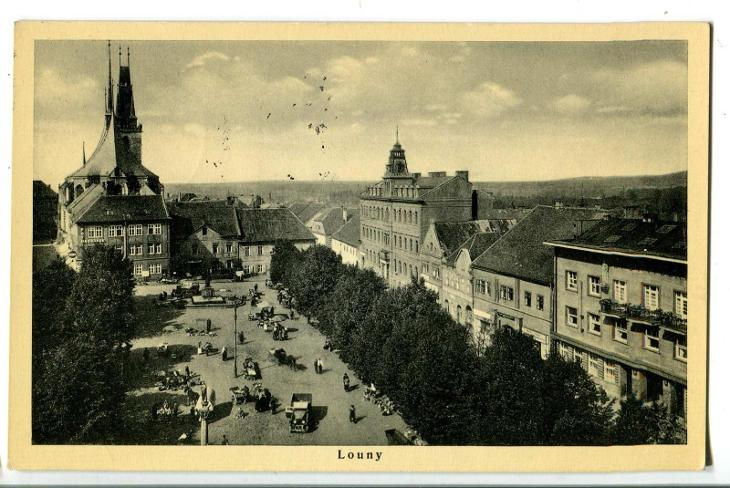 Louny - Pohlednice
