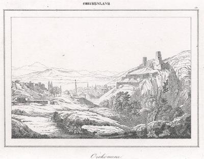 Orohomene, Le Bas, oceloryt 1840