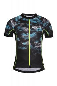 Alpine Pro MARK černý cyklistický dres