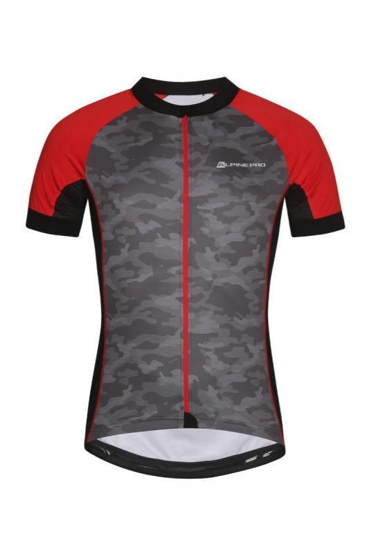 Alpine Pro MARK šedý cyklistický dres - Cyklistika