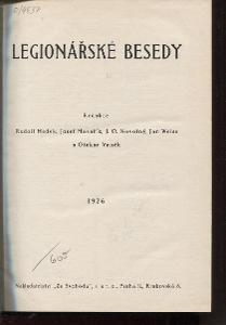 Legionářské besedy. I. ročník, čísla 1. - 20./1926