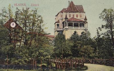 BLATNÁ - ZÁMEK - 97-SQ22