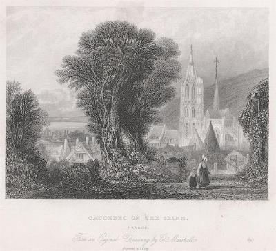 Caudebec, oceloryt, (1840)