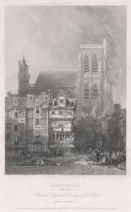 Abeville, oceloryt, (1840)