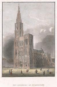 Strassburg, Meyer, kolor. oceloryt, 1850