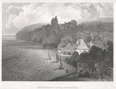 Montmorency , oceloryt, 1827