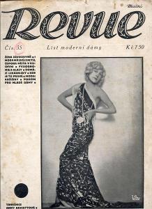 Modní revue, číslo 35., ročník VIII./1928 (List modern