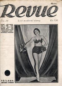 Modní revue, číslo 36., ročník VIII./1928 (List modern