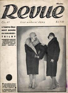 Modní revue, číslo 41., ročník VIII./1928 (List modern