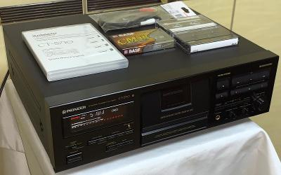 PIONEER CT-S710 Stereo Cassette Deck/3HEAD/Dolby B-C/HX-PRO(Japan)