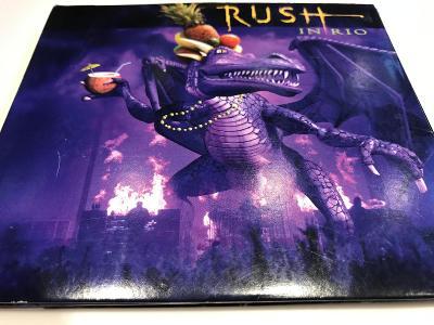 RUSH: ROCK IN RIO 2003, 3 CD SET, 1.Press, Top Stav, OD KORUNKY !!!