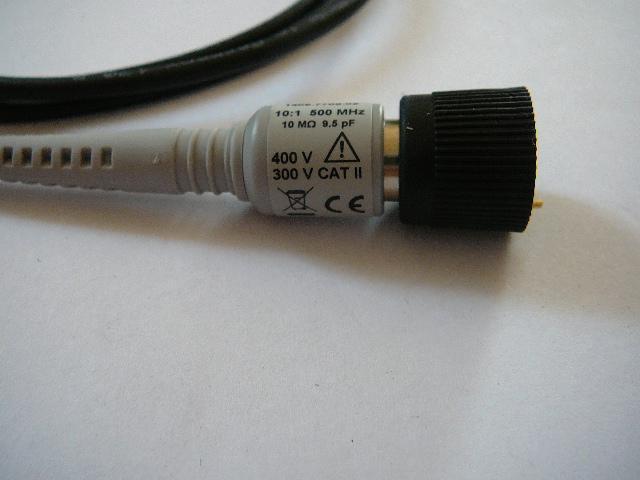 měřící SONDA  k osciloskopu 500MHz  / 10:1 - Elektronika
