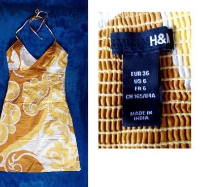 Dámské šaty H & M vel.36 (TOP stav!!!)