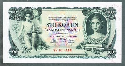 100 korun 1931 stav 0-1 NEPERFOROVANA !!!