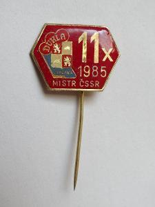 11x mistr ČSSR 1985 - DUKLA