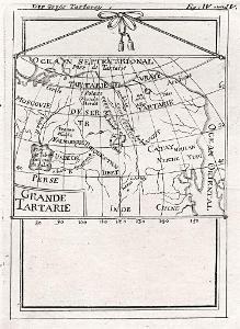 Rusko asijské, Mallet, mědiryt, 1719