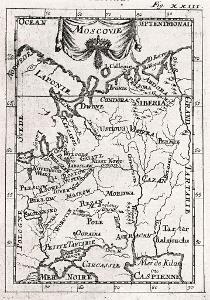 Rusko, Mallet, mědiryt, 1719
