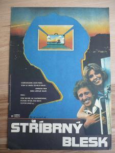 Stříbrný blesk (filmový plakát, film USA 1976, režie