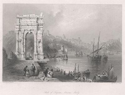 Ancona, Fischer oceloryt, (1840)