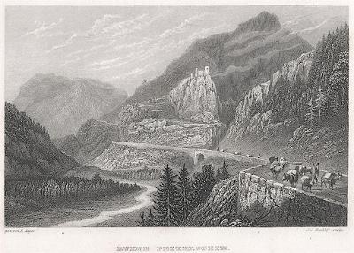 Peitelstein,  Mayer, oceloryt, 1840