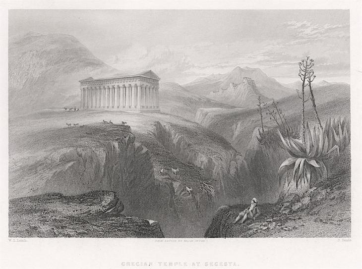 Segesta, Fischer oceloryt, (1840) - Antikvariát