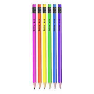Colorino tužka s gumou Neon
