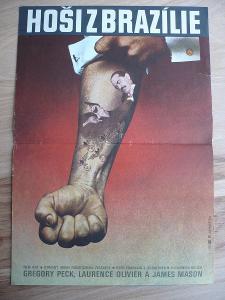Hoši z Brazílie (filmový plakát, film USA 1978, režie