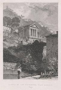 Spoleto, Fischer oceloryt, (1840)