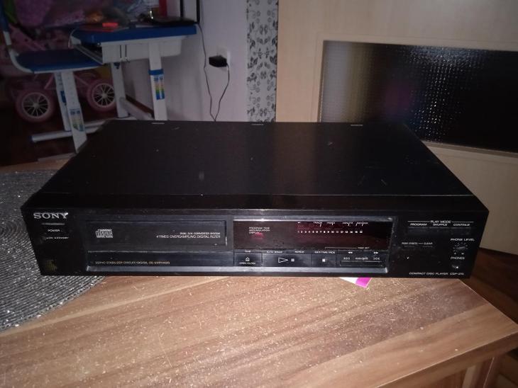 Sony CDP-270 - TV, audio, video