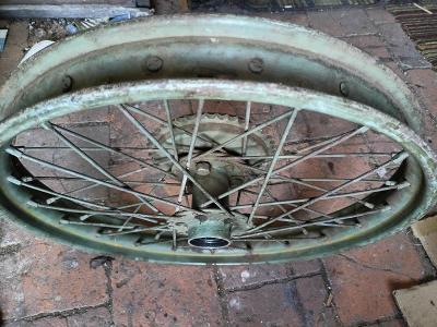 Zadní kolo Ogar, DKW, Zundapp, Jawa