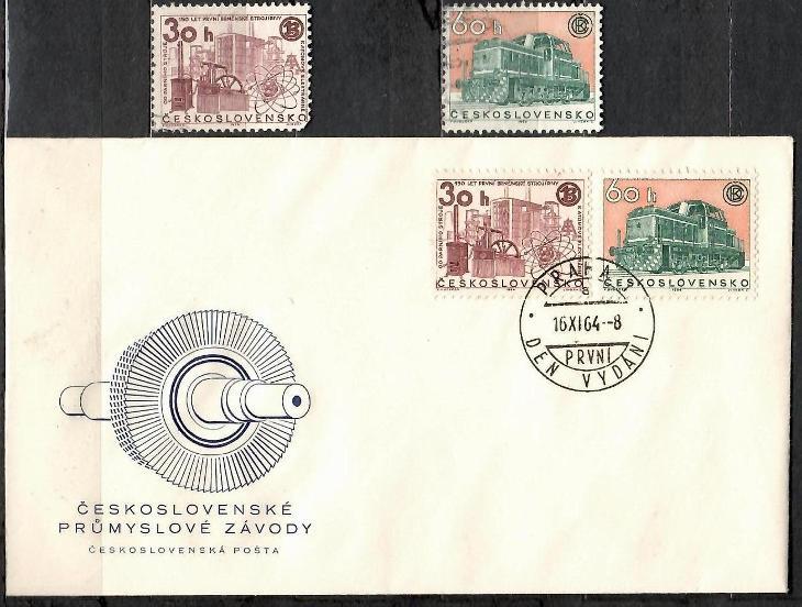 V5996   - FDC obálka prvního dne vydání + známky navíc - Filatelie