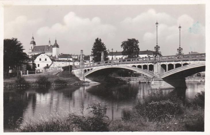 Hranice (Přerov) - prošlá 1937 - Pohlednice
