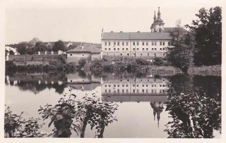 Želiv 1937 - Pohlednice