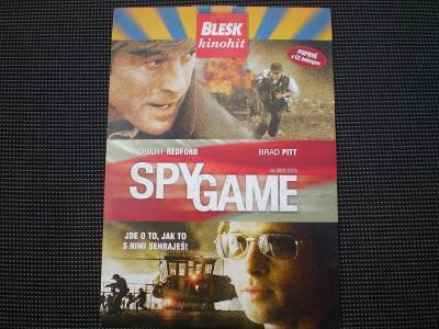 Spy Game DVD, akční krimi thriller, R.Redford, B,Pitt,režie Tony Scott