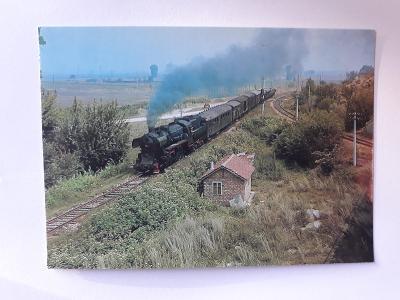 Lokomotiva 15.03 s manipulačním vlakem - VF