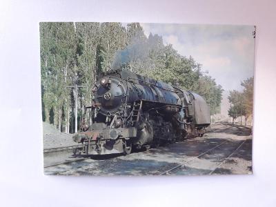 Lokomotiva 56,337 ve stanici Alibey - VF