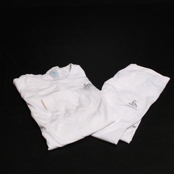Pánská souprava Odlo 196082 vel. S, bílá - Pánské oblečení