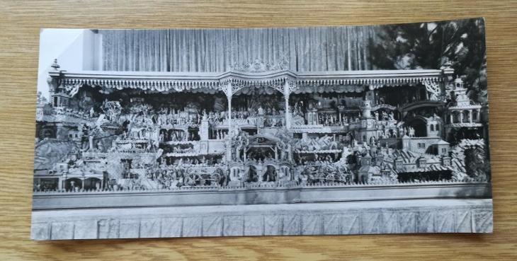 Pohled  Třebechovický betlém - Pohlednice